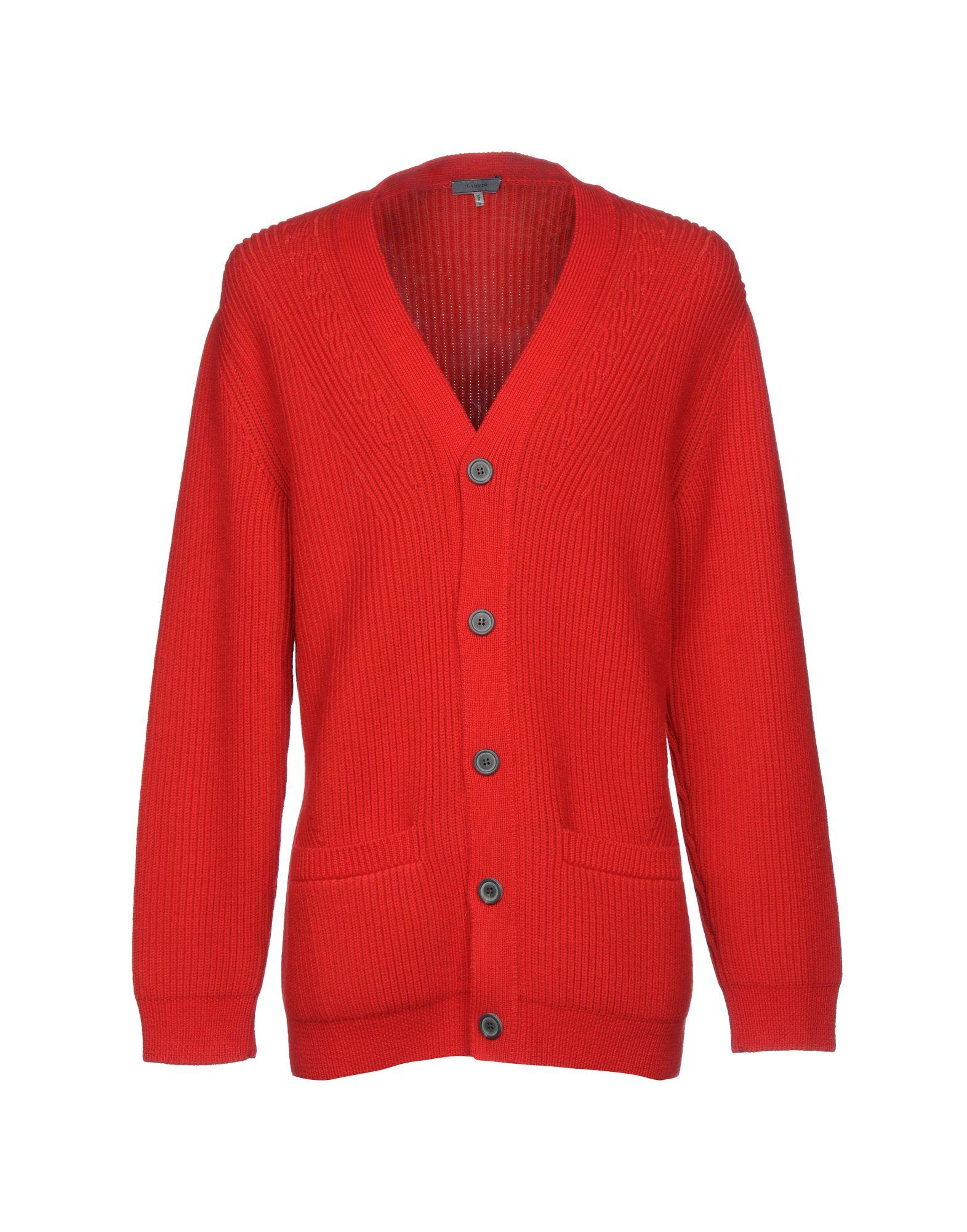 Lanvin Cardigan In Red
