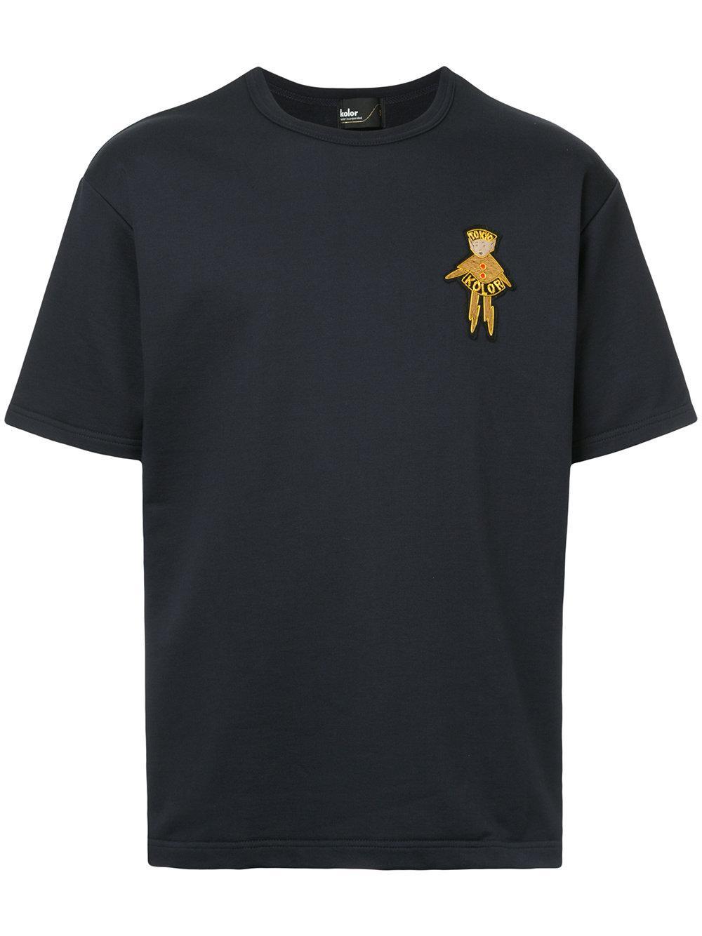 Kolor Patch Detail T-Shirt