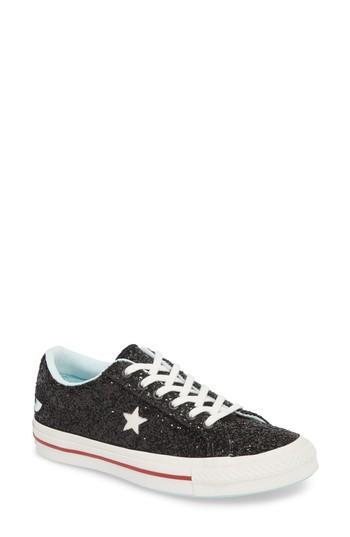 a9b500b7d17 Converse Women s One Star Ox X Chiara Ferragni Glitter Sneakers In ...