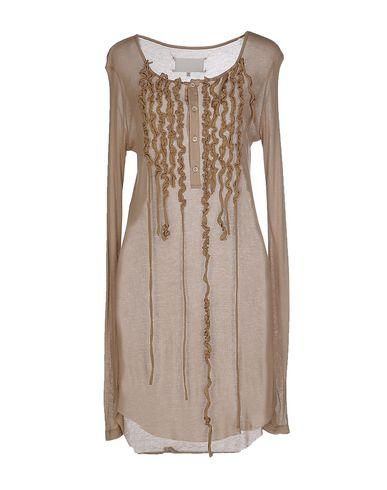 Maison Margiela Short Dresses In Light Brown