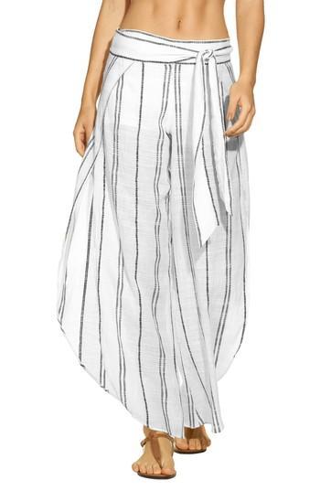 5b841714ed Vix Swimwear Liz Cover-Up Pants In Off White | ModeSens