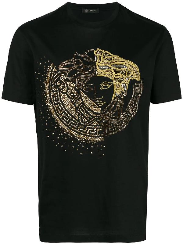bd21ac69d88 Versace Logo T-Shirt - A92X | ModeSens