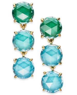 55bcc4c66fa0 Kate Spade Bright Ideas Triple Drop Earrings In Blue Multi | ModeSens