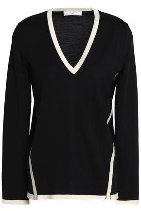 Lanvin Woman Wool Sweater Black