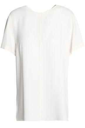 Proenza Schouler Woman Tie-back Crepe Top White