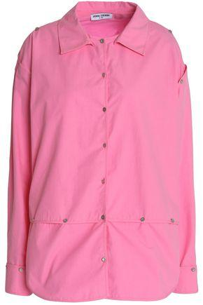 Opening Ceremony Woman Detachable Cotton-poplin Shirt Bright Pink