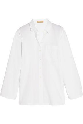 Michael Kors Woman Cotton-poplin Shirt White
