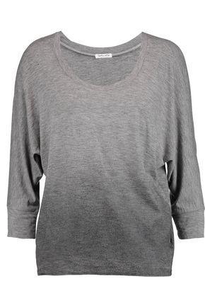 Splendid Woman OmbrÉ Modal-blend Top Gray