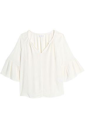 Velvet By Graham & Spencer Woman Gauze Top Off-white