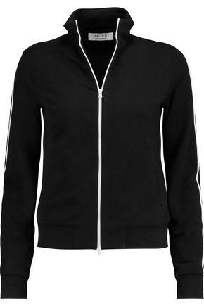 Bailey44 Woman Stretch Modal And Cotton-blend Jacket Black