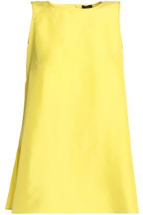 Joseph Woman Silk Top Yellow