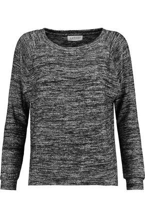 Velvet By Graham & Spencer Woman Brushed-jersey Top Gray