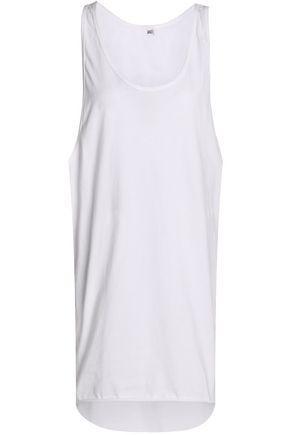 Oak Woman Oversized Cotton-jersey Tank White