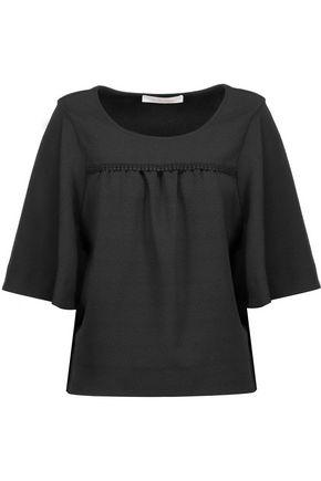 See By ChloÉ Woman Crepe Top Black