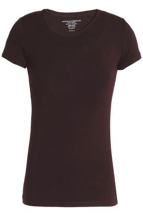 Majestic Woman Stretch-jersey T-shirt Merlot