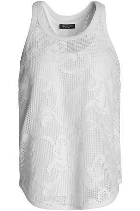 Rag & Bone Woman Cotton-blend Lace Top White