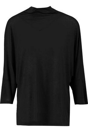 Iro Woman Selya Brushed Jersey Top Black