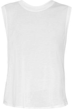 Enza Costa Woman Stretch-jersey Tank White