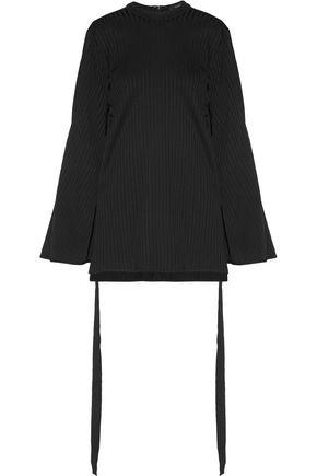 Ellery Woman Teddy Girl Ribbed Jersey Top Black