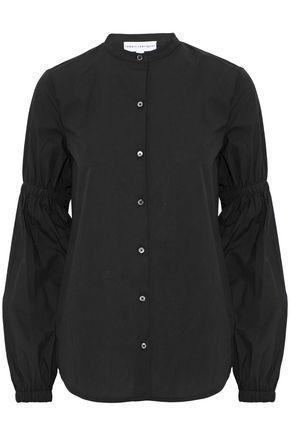 Robert Rodriguez Woman Cotton-poplin Top Black