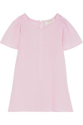 Goat Woman Dew Wool-crepe Top Baby Pink