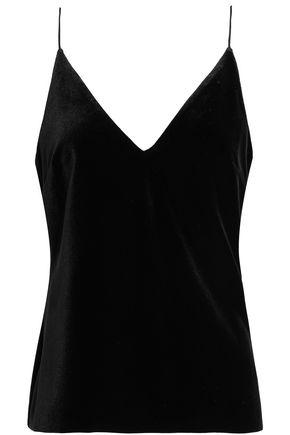 Nicholas Woman Velvet Camisole Black