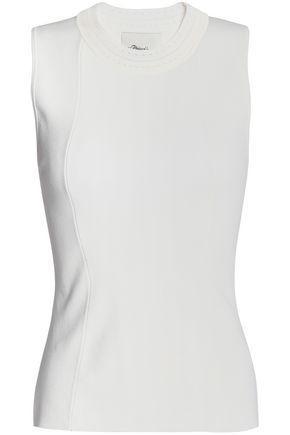3.1 Phillip Lim Woman Ponte-knit Top White