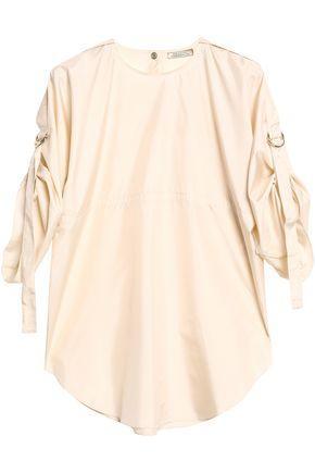 Nina Ricci Woman Silk Top Ecru