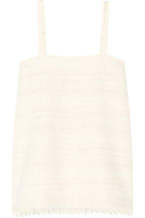 Hatch Woman The Nilli Cotton-blend Tweed Camisole Off-white