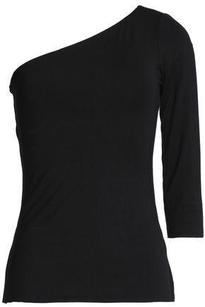 Bailey44 Woman One-shoulder Jersey Top Black