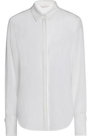 ChloÉ Silk Shirt In Ecru