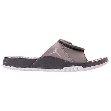 cheap for discount 51c8b 50f71 Men's Jordan Hydro Xi Retro Slide Sandals, Grey