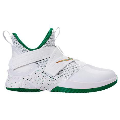 best website 4a5df 9fc0f Nike Boys  Grade School Lebron Soldier 12 Basketball Shoes, White