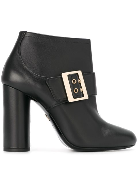 Lanvin Mary Jane Ankle Boots