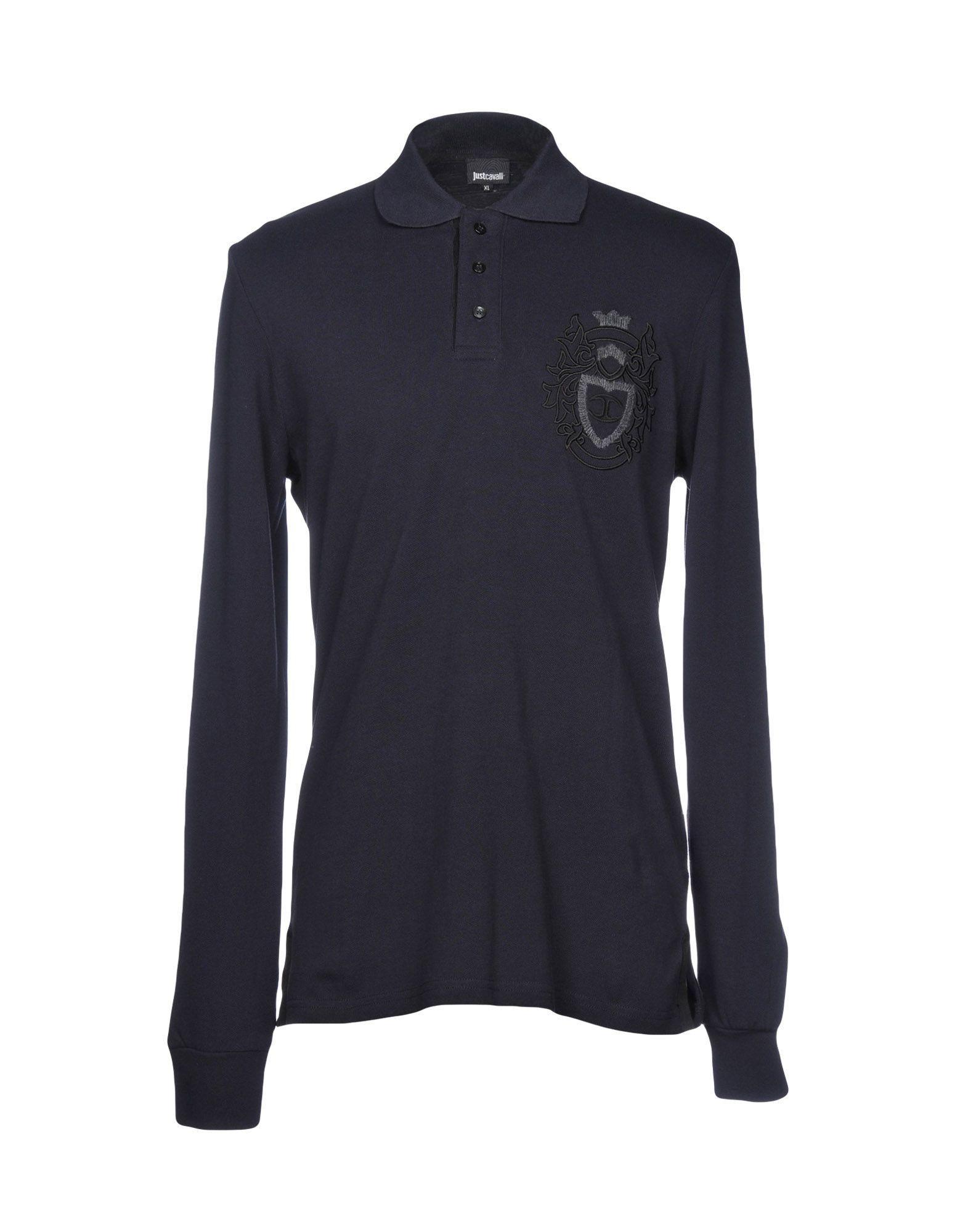 dc4e5a6d Just Cavalli Polo Shirt In Dark Blue   ModeSens