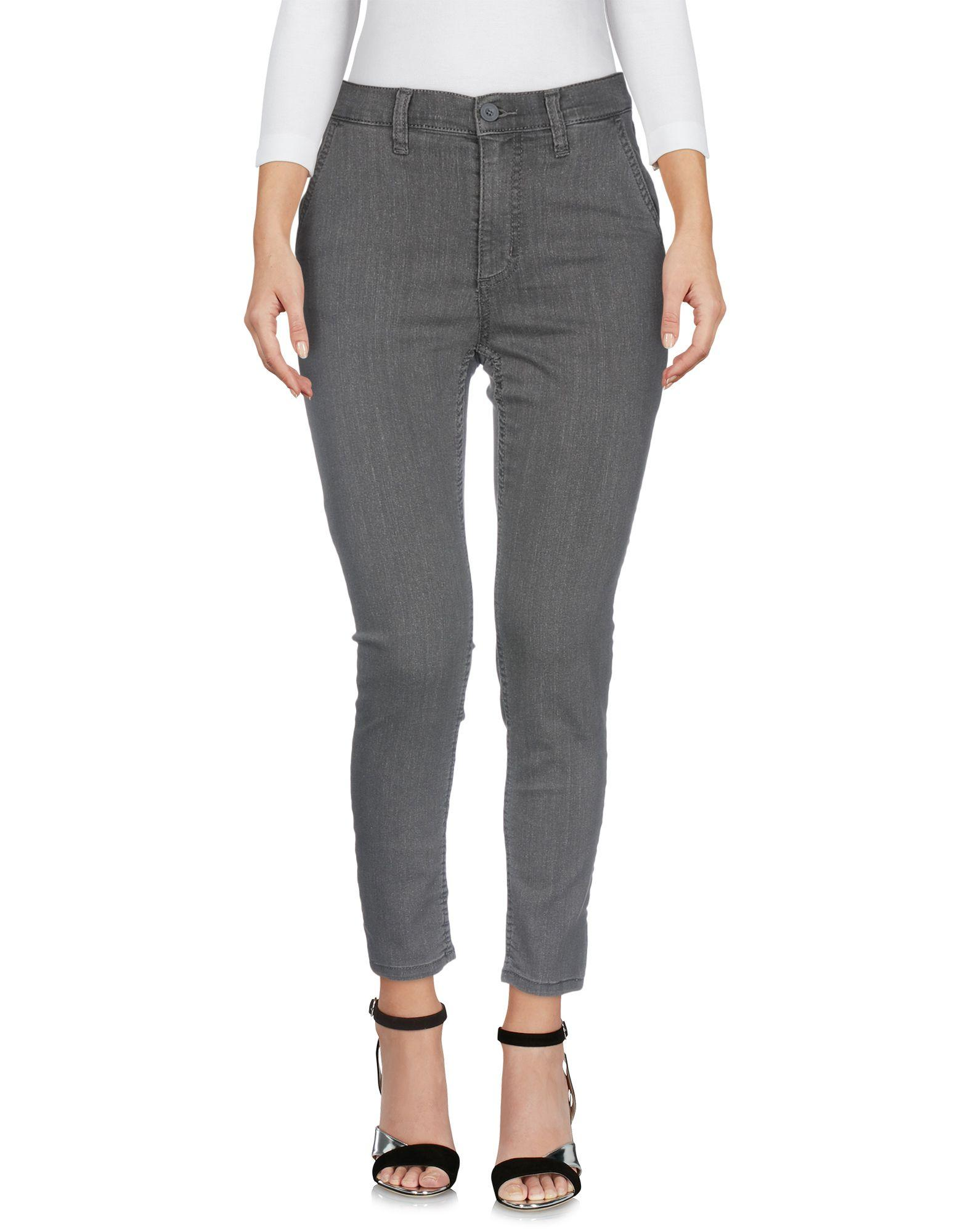 Cheap Monday Denim Pants In Grey