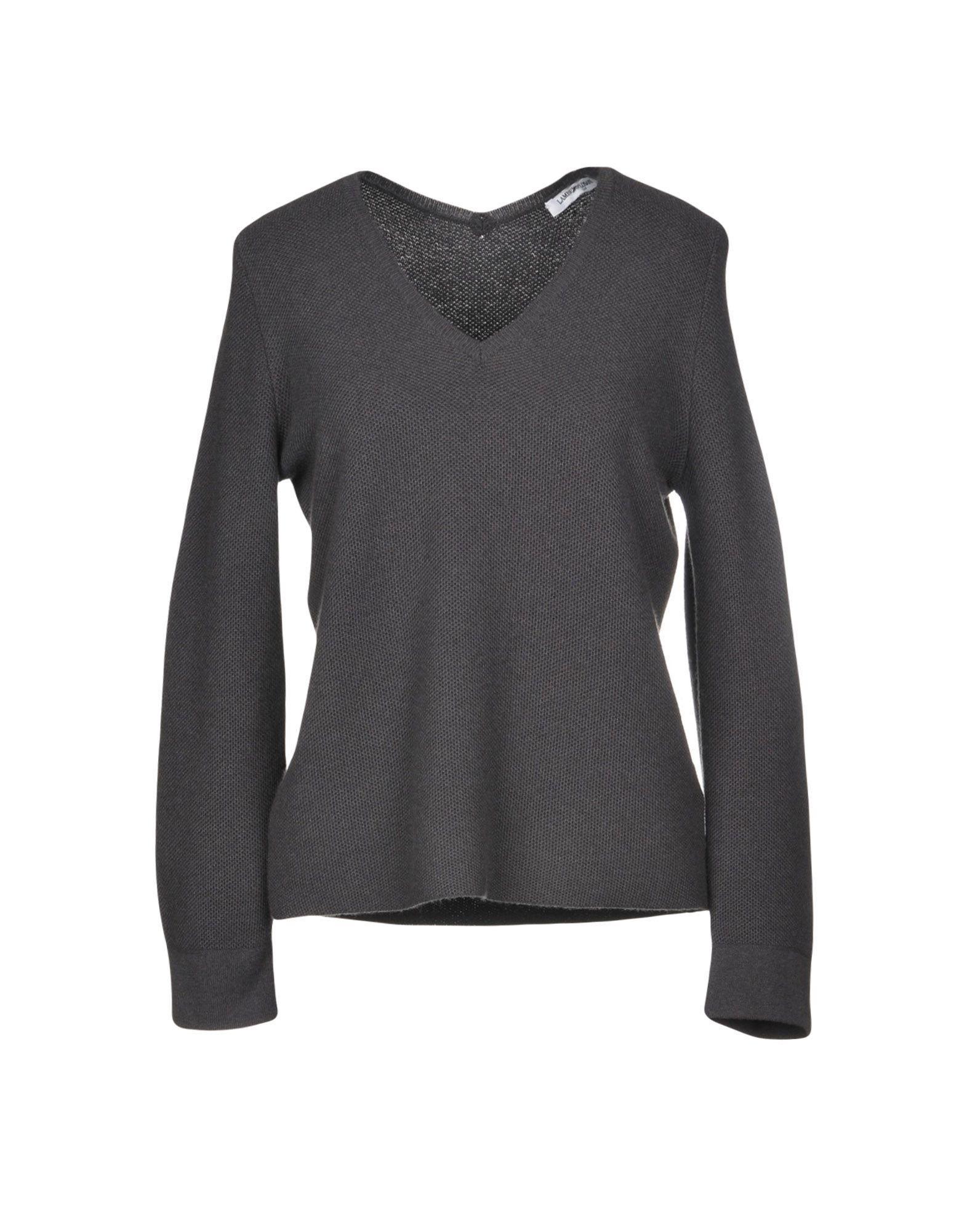 Lamberto Losani Sweaters In Steel Grey