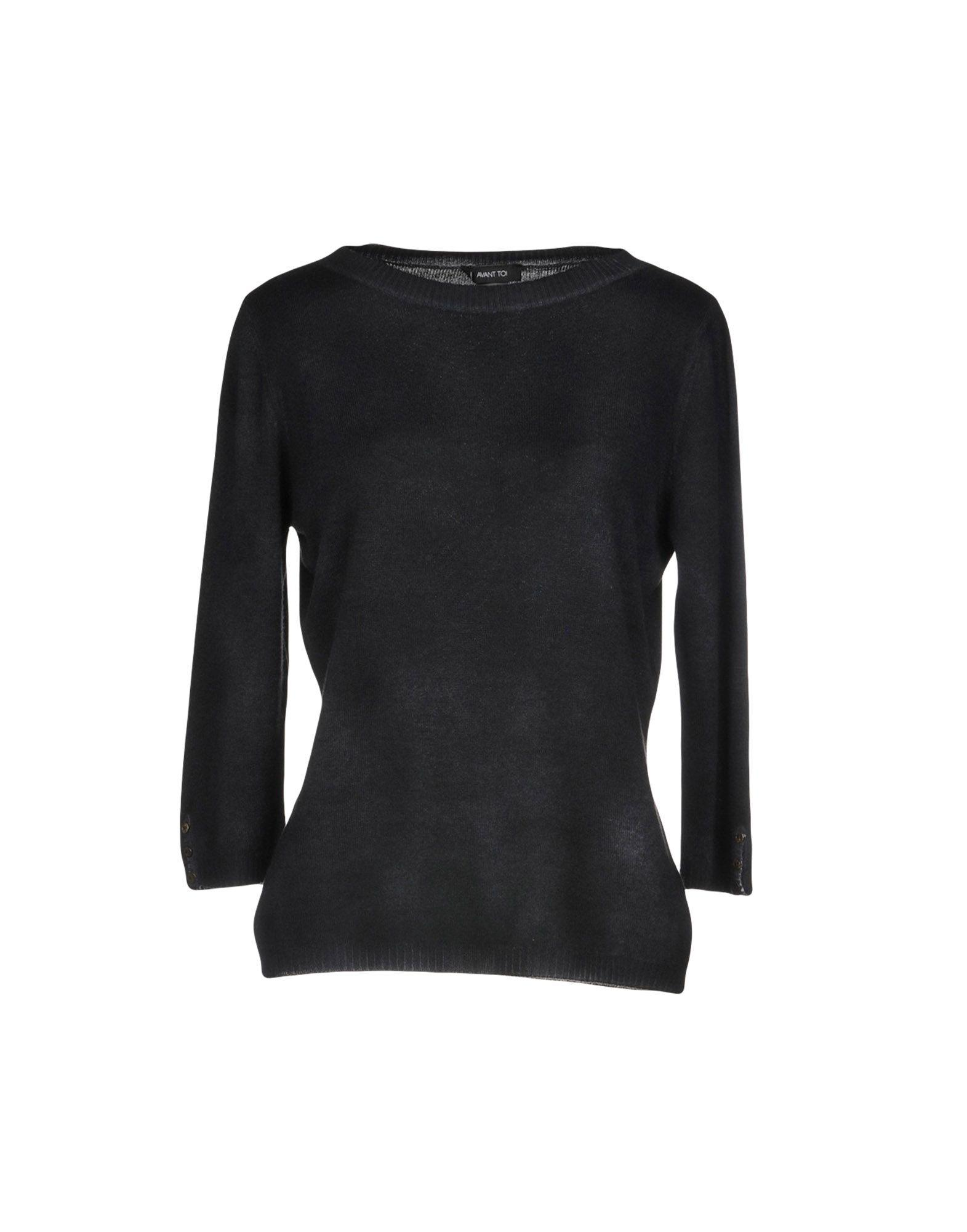 Avant Toi Cashmere Blend In Black