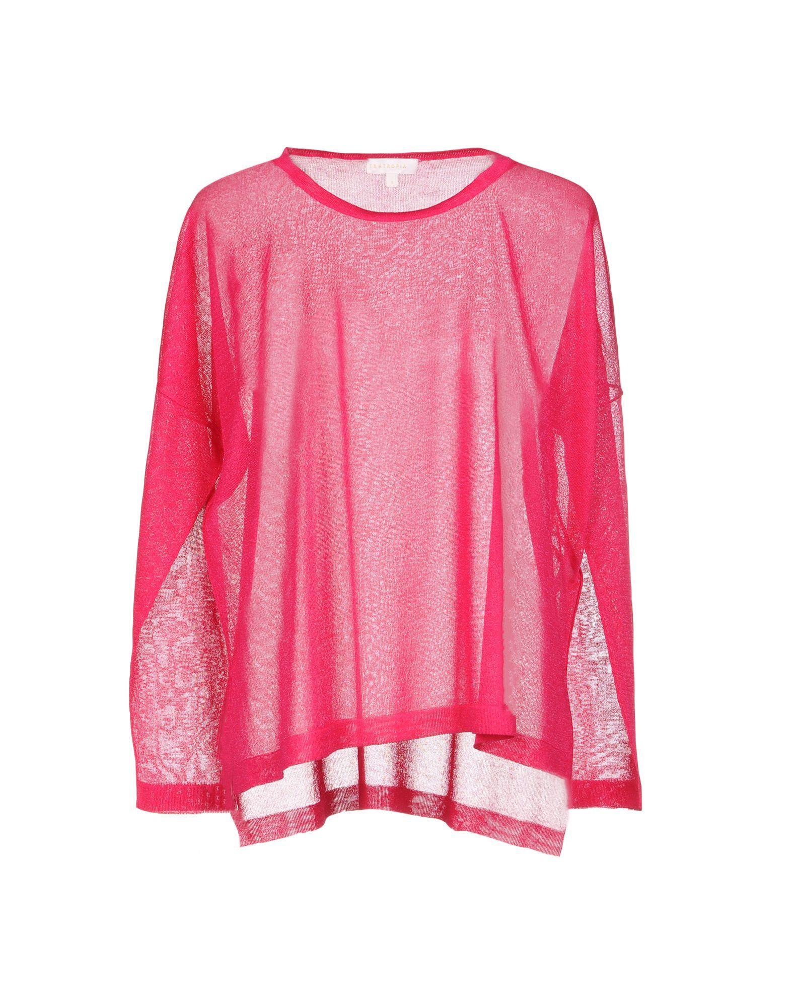 Intropia Sweaters In Fuchsia