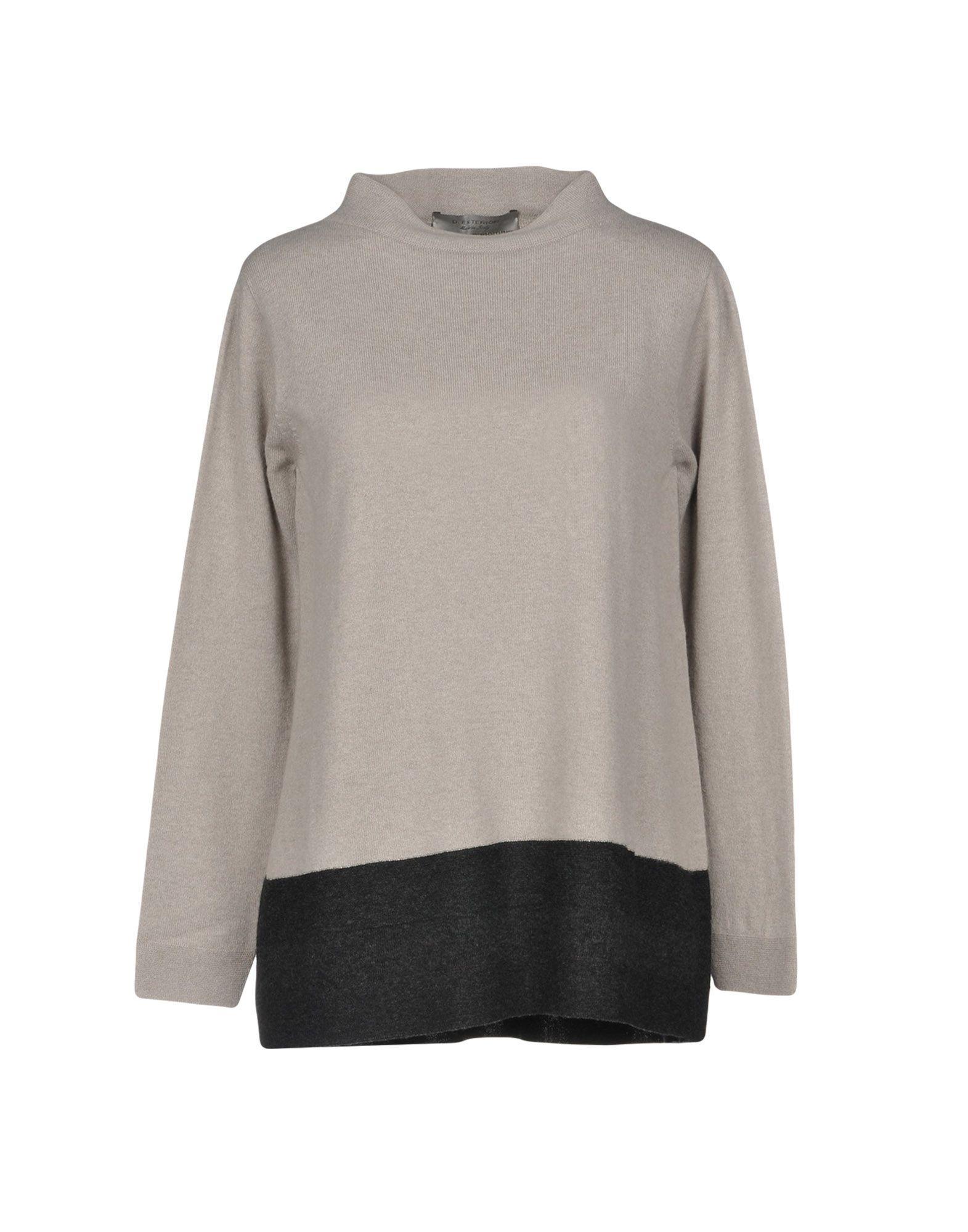 D.exterior Cashmere Blend In Light Grey