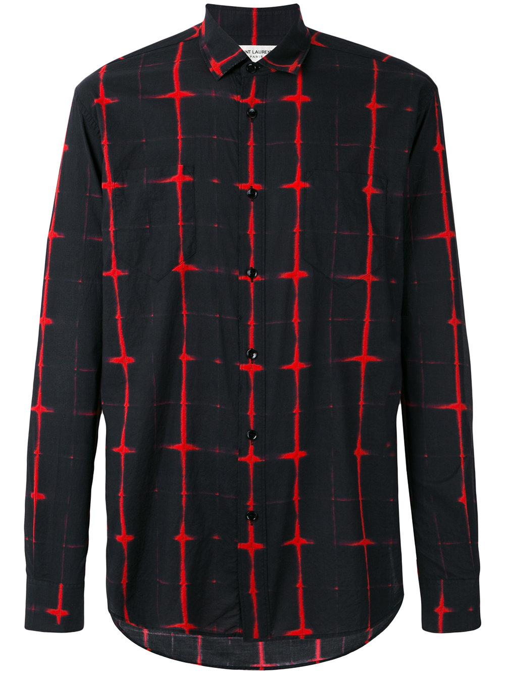 Saint Laurent Signature Yves Collar Shirt