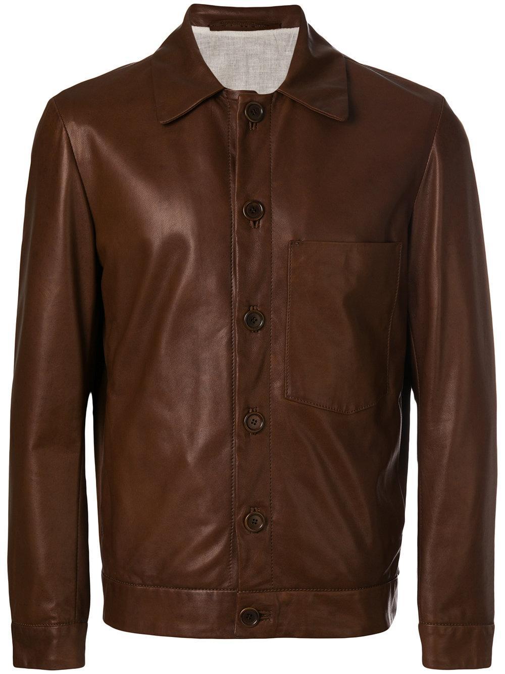 Salvatore Santoro Buttoned Up Jacket
