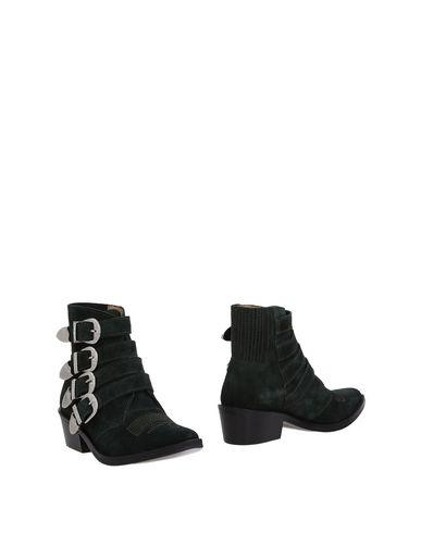 Toga Ankle Boot In Dark Green
