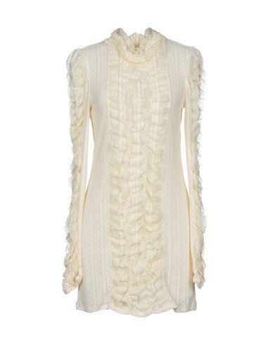 Philosophy Di Lorenzo Serafini Short Dress In Ivory