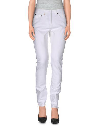 Neil Barrett Denim Trousers In White