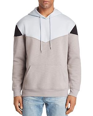 Pacific & Park Color-block Pullover Hoodie - 100% Exclusive In Light Blue/ Charcoal Gray