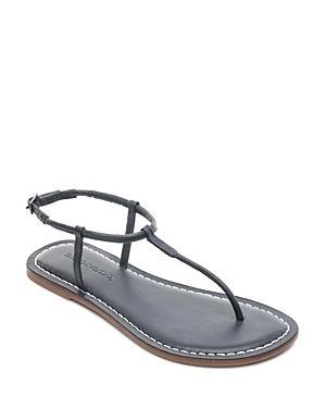 Bernardo Lilly T-strap Thong Sandals In Navy