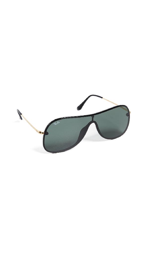 20456cbbd934df Ray Ban Ray-Ban Women s Rimless Shield Sunglasses