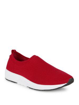 Steve Madden Balvin Slip On Sneakers In Red
