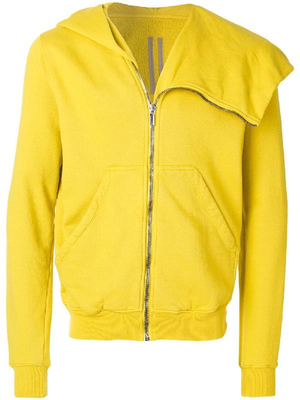 Rick Owens Drkshdw Hooded Jacket - Yellow & Orange